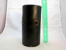 "Fujica Black hard Lens Case 8"" tall x4""w Made in Japan S2102005"
