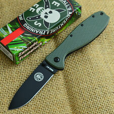 ESEE Zancudo OD Green Black Finish AUS 8A Framelock Knife BRKR1ODB