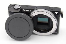 SONY A5000 20.1MP 3''SCREEN MIRRORLESS DIGITAL CAMERA BODY ONLY WITH BATTERY