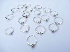 *US Seller*20 pcs wholesale rings cz crystal fashion rings