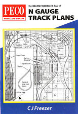 Peco PB-4 The Railway Modeller Book of N Gauge Track Plans Book - 1st Class Post