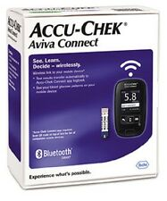 NEW ROCHE Accu-Chek AVIVA CONNECT Blood Glucose Meter Monitor System (No Box)