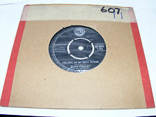 "Elvis  Presley  A  Mess  Of  Blues / The  Girl Of  My  Best Friend 1960 7"" Vinyl"