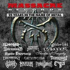 MASSACRE RECORDS-25 YEARS IN METAL 2 CD NEU