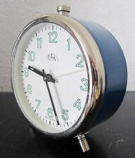 ULA WECKER analog mechanisch Vintage Alarm Clock 1980er Jahre? funktioniert