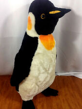 Penguin Plush Large 2' Tall Melissa & Doug Lifesize Emperor Stuffed #2122
