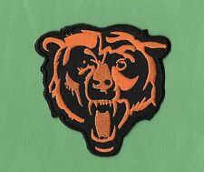 """New Chicago Bears 'Head'  3 X 3 """" Iron on Patch Free Shipping"""