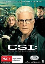 CSI - Crime Scene Investigation: Series Season 15 (DVD, 2016, 5-Disc Set), NEW