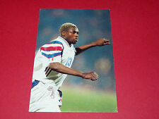 N°22 IBRAHIM BA PHOTO PANINI FRANCE 98 EN ROUTE POUR LA COUPE DU MONDE 1997