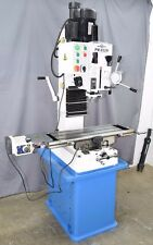 "PM-932M-PDF 9x32"" VERTICAL BENCHTOP MILLING MACHINE POWER DOWN FEED ON SPINDLE"