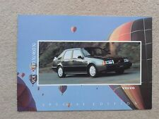 Volvo 440 & 460 Xi Limited Edition 1992 UK Market Sales Brochure Pristine