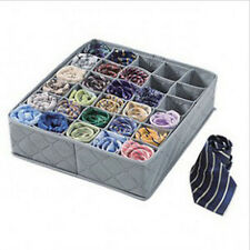 CHEAP! 30 Cells Bamboo Charcoal Underwear Bra Socks Drawer Organizer Storage Box