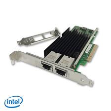 Nuevo Intel X540-T2 Dual 10GB 10G RJ45 puertos Ethernet adaptador de red convergente
