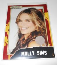 PopCardz Costume Trading Card #12 Molly Sims (V.3)