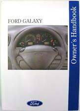 FORD Galaxy - Original Car Owners Handbook - Mar 1996 - # 396 - 3rd Ed.