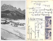 Dolomiti Val Pusteria Moos in Sesto CON BELLA AFFRANCATURA ANNO 1947 (A-L 078)