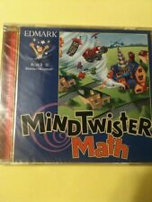 MINDTWISTER MATH - Age 8-10 NEW for PC XP Vista Win 7.  Brand New. FREE Shipping