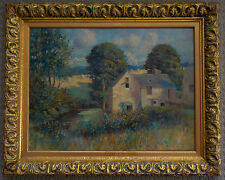 Wonderful 19th Century English Impressionist Oil/Canvas Painting, Signed