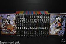 JAPAN xxxHolic Manga 1~19 Complete Set Clamp book