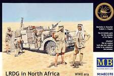 MB MasterBox LRDG in Northern Africa nord 1:35 nuovo conf. orig. Modello kit