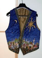 Ehrman Designr Candace Bahouth STARRY NIGHT WAISTCOAT Tapestry Needlepoint chart