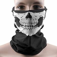 US Stretchable Tubular Skull Face Mask Motorcycle Biker Snowboard Headkerchief