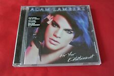 For Your Entertainment Adam Lambert (American Idol) Promo Sticker Canada CD NEW