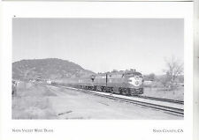 "*Postcard-""Napa Valley Wine Train"" (Pullman & Observation) Napa County CA.(#238)"