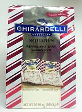 Ghirardelli Chocolate PEPPERMINT BARK DARK & PEPPERMINT BARK Collection