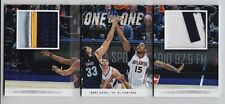 2014-15 Preferred Marc Gasol & Al Horford One on One Patch Booklet (03/25)