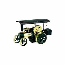 Wilesco D 496 REMOTE-CONTROLLED STEAM TRACTOR brass black new