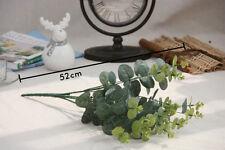 Artificial Fake Floral Plastic Silk Eucalyptus Flowers Cafe Home Decor