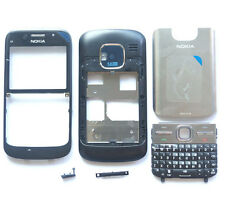 Black Cover Housing Fascia Case Nokia E5-00+Keypad+Tool