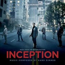 INCEPTION CD - ORIGINAL MOTION PICTURE SOUNDTRACK (2010) - NEW UNOPENED