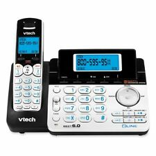 Vtech DS6151 DECT 6 0 Cordless Phone Silver/Black 1 Handset Office Product