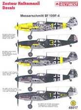 Techmod Decals 1/48 MESSERSCHMITT Bf-109F-4 Fighter