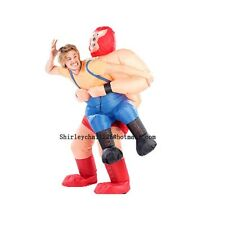 inflatable wrestler costume halloween costumes for adult party costume Kits