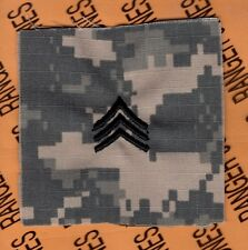 US ARMY Enlisted SARGEANT SGT E-5 sew on ACU rank patch