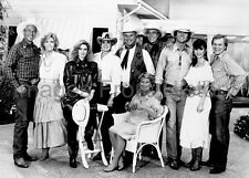 8x10 Print Larry Hagman Cast of Dallas 1989 #92565