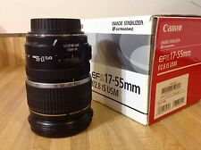 Canon EF-S 17-55mm f/2.8 IS USM Lens w/caps - 1242B002