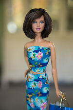 Stunning Barbie Basics Model Muse with outfit and accessories
