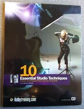 10 Essential Studio Techniques with Scott Kelby - Kelby Training DVD