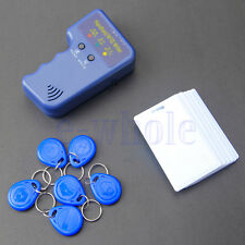 Handheld RFID Duplicator Copier/Writer Programmer +6 Tags/T5577 Cards Copy ID HM