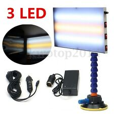 3 Strips Paintless Dent Repair LED Light PDR Tools Auto Body Lamp Hail Removal