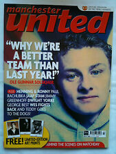 No 87 Manchester United Official Magazine March 2000