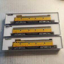 Kato N Scale Union Pacific E 8/9 A-B-A Units see description for details