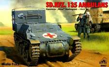 Sd. kfz 135 allemand blindé ambulance-stalingrad 1942 1/35 rpm panzer