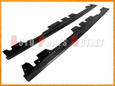 Carbon Fiber E-Style Side Skirt Add-on Lip Fit For 2008-2013 BMW E92 E93 M3 Only