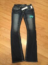 Maurices Slim Boot Jeans NWT 3/4 X-long
