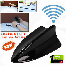 Hyundai Accent Blue Shark Fin Functional Black Antenna (For AM/FM Radio)